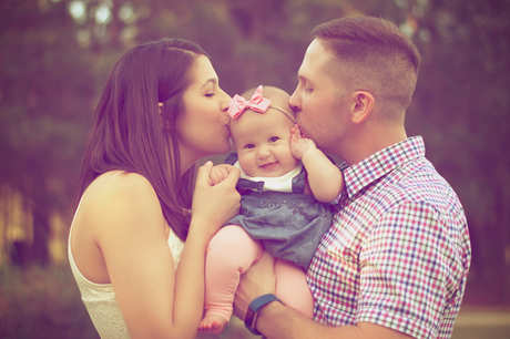 Madre, Padre y Niño